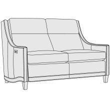 Richmond Power Motion Loveseat in Mocha (751)