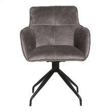 Cavazzi Swivel Chair Grey