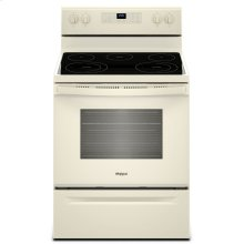 5.3 cu. ft. Freestanding Electric Range with Frozen Bake Technology Biscuit