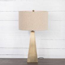 Brass Finish Leander Table Lamp