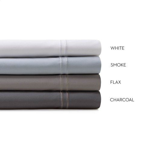 Supima® Cotton Sheets Split King Charcoal