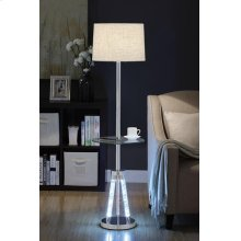 CHROME FLOOR LAMP