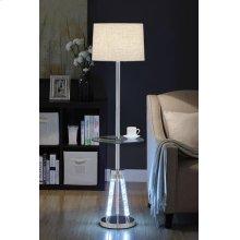 CHROME FLOOR LAMP
