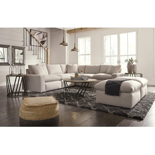 Savesto - Ivory 6 Piece Sectional