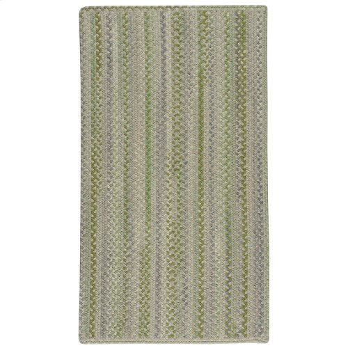 Fusion Botanical Green Braided Rugs (Custom)