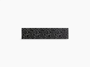 """Nero Marquina Marble 34-3/4"""" Etched Stone Insert Product Image"""