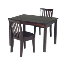 Juvenile Table in Rich Mocha