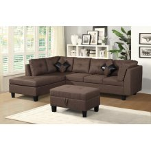 Townsend Brown Sectional set