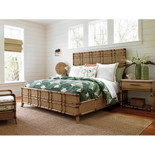 Coco Bay Panel Bed King