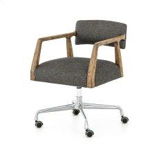 Ives Black Cover Tyler Desk Chair