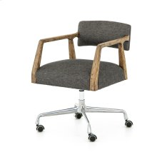 Ives Black Cover Tyler Desk Chair