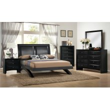 Emily Black Nightstand