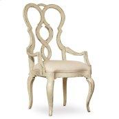 Dining Room Auberose Upholstered Splatback Arm Chair