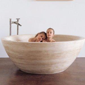 Round Bathtub Product Image