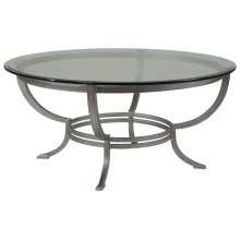 Andress Round Cocktail Table