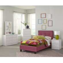 White 5 Drawer Chest (Net Price)