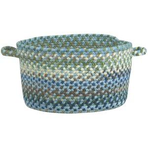 Homecoming Sky Blue Braided Rugs