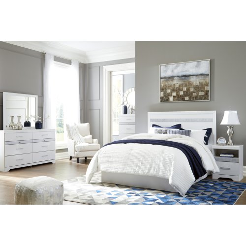 Jallory - White 2 Piece Bedroom Set