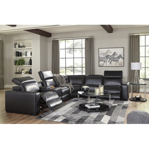 Mantonya - Midnight 5 Piece Sectional