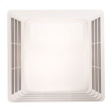Fan/Light, White Plastic Grille, 70 CFM, 3.5 Sones Type IC