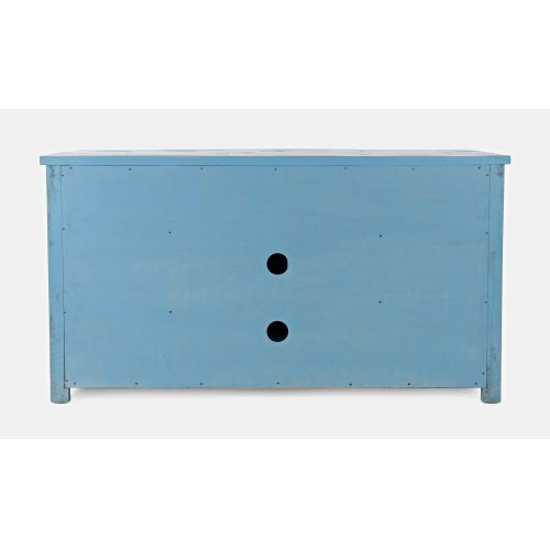 "American Folklore 60"" Console - Antique Blue"