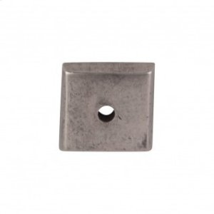 Aspen Square Backplate 7/8 Inch - Silicon Bronze Light Product Image