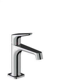 Polished Chrome Single lever basin mixer 100 with pop-up waste set