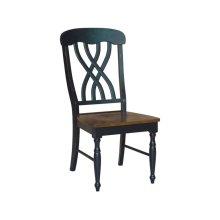 Latticeback Chair in Espresso & Aged Ebony