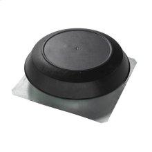Attic Ventilator, Black Dome, 1600 CFM.