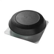 Attic Ventilator, Black Dome, 1600 CFM.