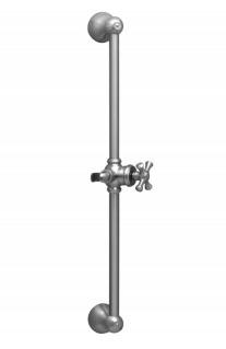 """24"""" Adjustable Slide Bar with Hook K6024 - Oil Rubbed Bronze"""