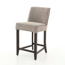 Counter Stool Size Heather Twill Stone Cover Aria Bar + Counter Stool
