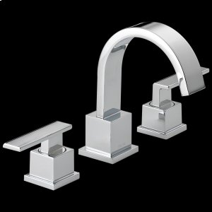 Chrome Two Handle Widespread Bathroom Faucet Product Image