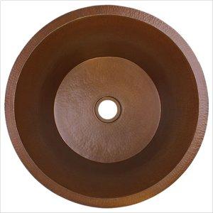 """Large Flat Round 2"""" drain"""" Product Image"""