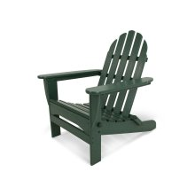 Green Classic Folding Adirondack