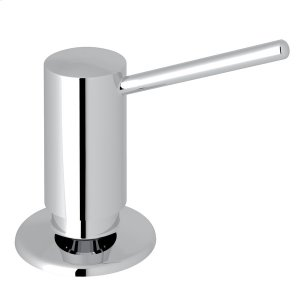 Polished Chrome Dé Lux II Soap/Lotion Dispenser with Metal Lever Product Image