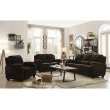 Northend Casual Chocolate Loveseat