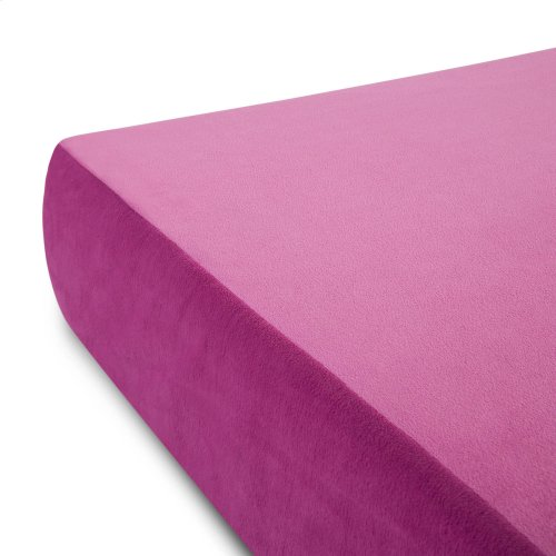 Brighton Bed Youth Gel Memory Foam Mattress Full Pink