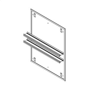 """Profiles 30"""" X 40"""" X 15/16"""" Mirror Ganging Kit for A Seamless Transition With Profiles Cabinets and Profiles Lighting (depth Is 4-11/16"""" When Surface-mounted) Product Image"""