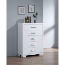Jessica Contemporary Five-drawer Chest