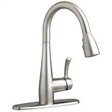 Quince 1-Handle Pull Down High-Arc Kitchen Faucet  American Standard - Stainless Steel