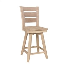 S-292SWB Tuscany 24'' Swivel Counter Stool