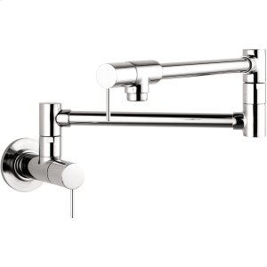 Chrome Single lever kitchen mixer wall-mounted Product Image