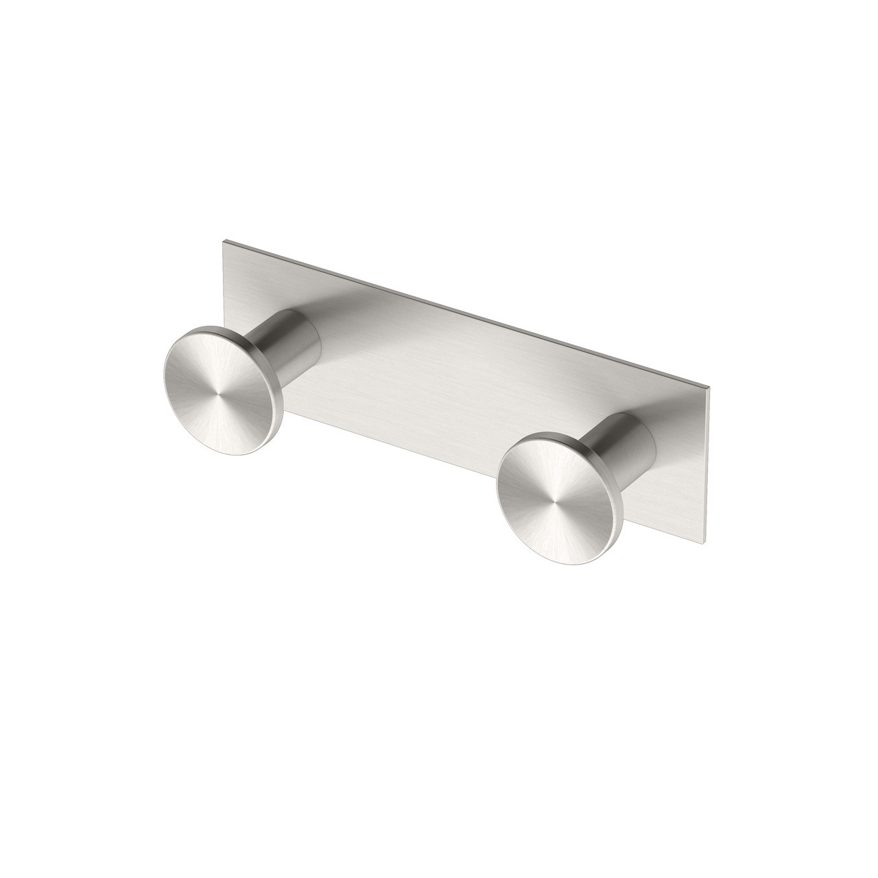 All Modern Decor Double Hook Square in Satin Nickel