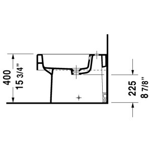 Vero Bidet Floorstanding 224010..30