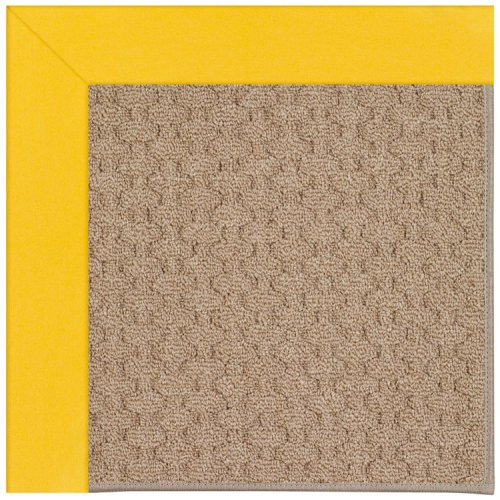 Creative Concepts-Grassy Mtn. Canvas Sunflower Yel Machine Tufted Rugs