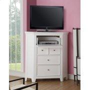 WHITE CORNER TV CONSOLE Product Image