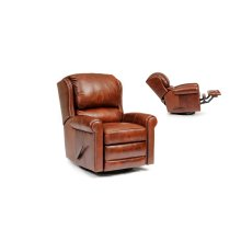 Leather Manual Reclining Chair
