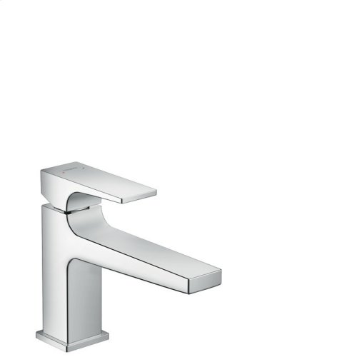 Chrome Single-Hole Faucet 100 with Lever Handle, 1.2 GPM