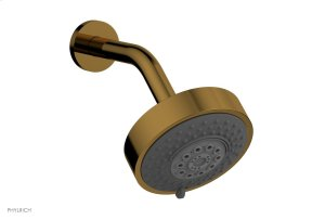 """5"""" Contemporary Multifunction Shower Head K837 - French Brass Product Image"""